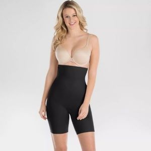 Spanx Assets Micro High Waist Shaping Shorts Sz S